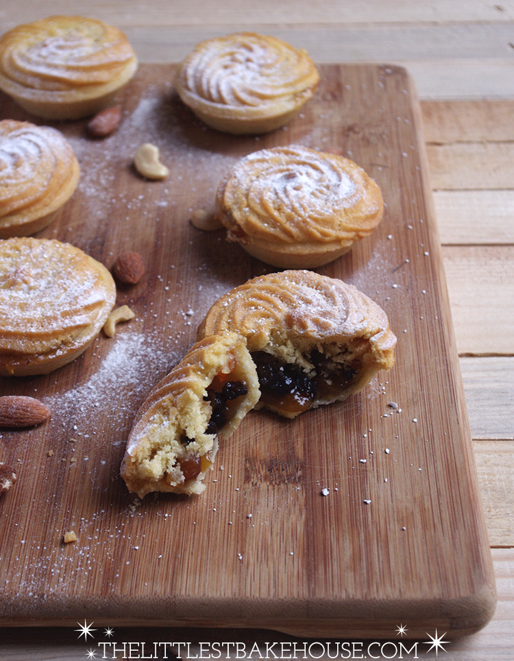 Viennese Mince Pies // The Dinner Bell