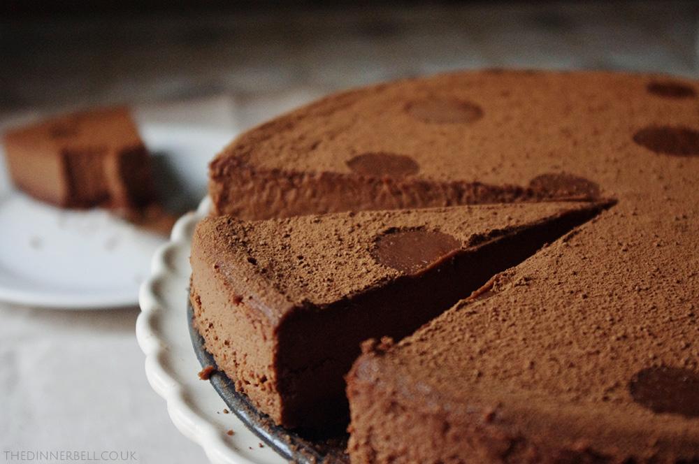 Chili chocolate cheesecake - The Dinner Bell