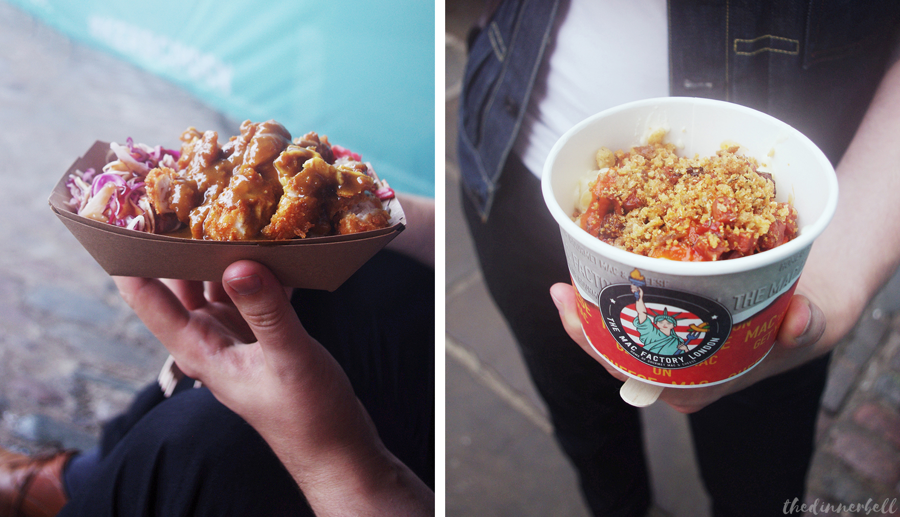 Eating out: KERB Camden, London - Yu Kyu and The Mac Factory // The Dinner Bell